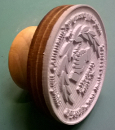 medium size picture of circular inkstamp bottom