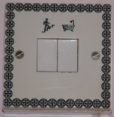 picture of engraved 2 way light switch