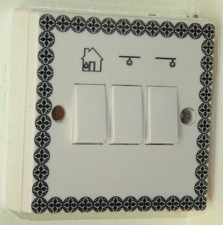 picture of engraved 3 way light switch