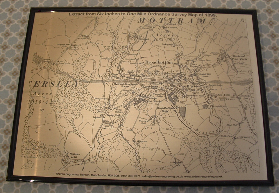 picture of engraved map
