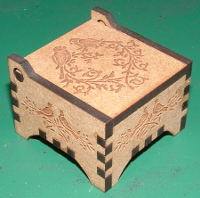 medium size picture of small engraved wooden box